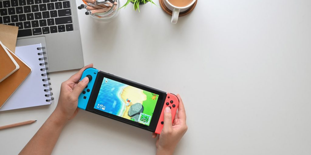 Nintendo Switch is one of the most popular consoles around, it's a fantastic Mitzvah Gifts That Aren't Money for an online gamer.