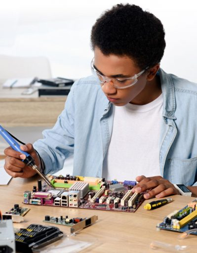 Building things on your own is a great way to build confidence and skills.